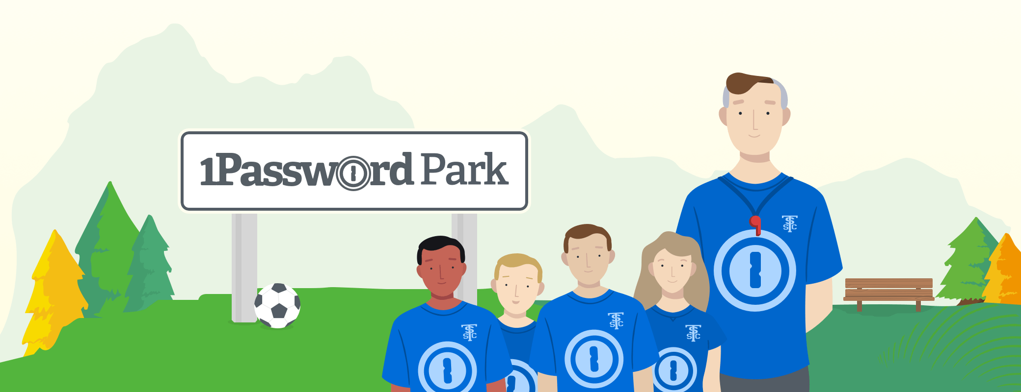 Let's all go to the park - introducing 1Password Park