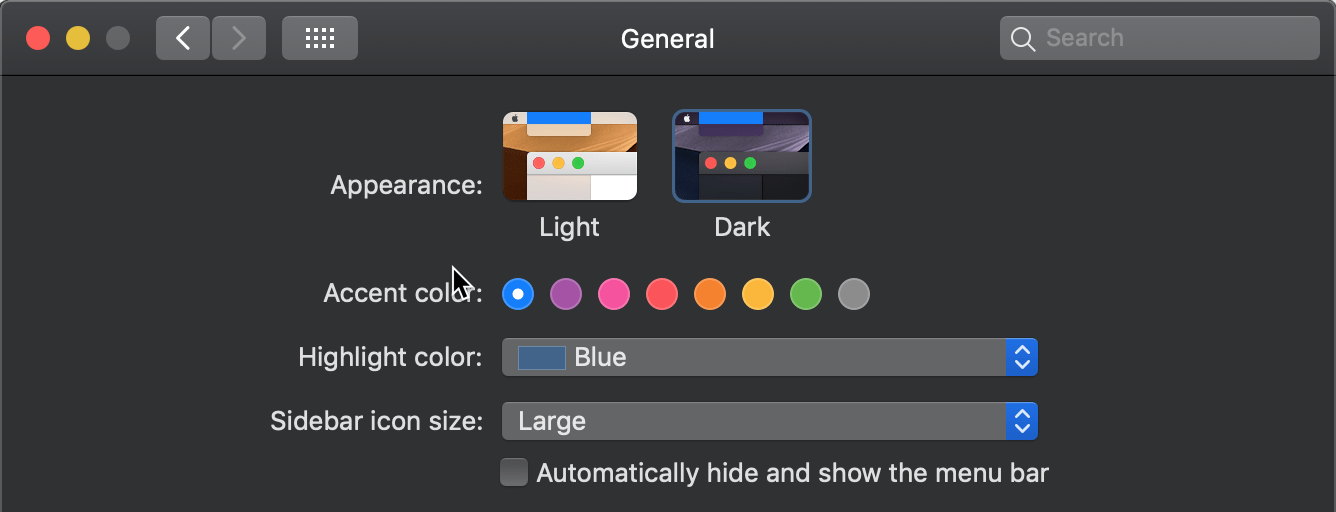 1Password Blog supports Dark Mode