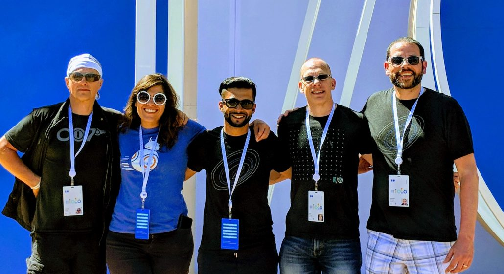 Team photo at Google I/O 2018