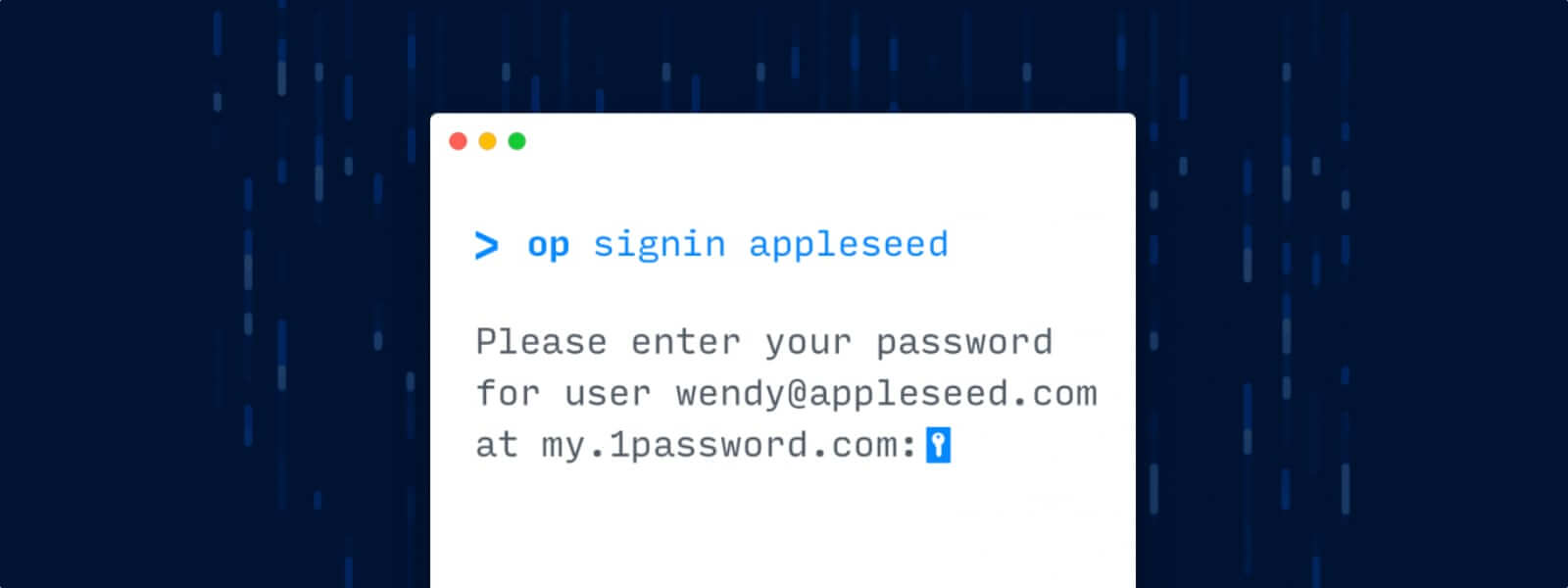 Announcing the 1Password command-line tool public beta