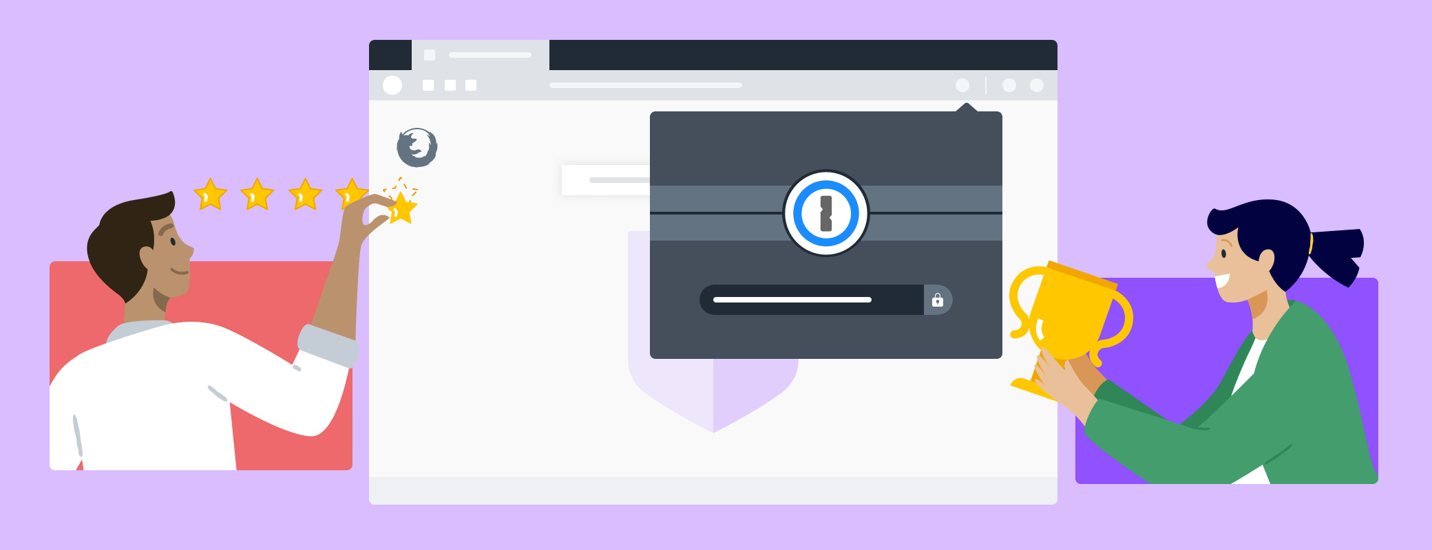 Mozilla has selected 1Password X as a Recommended Extension for Firefox