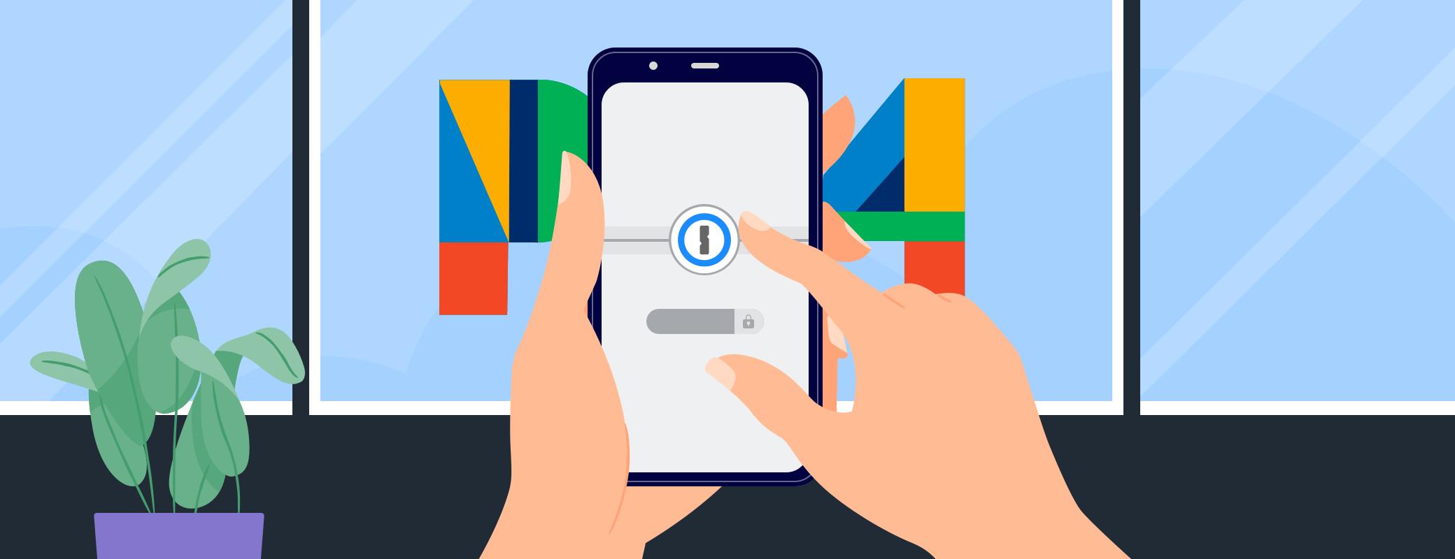1Password + Pixel 4 + Android 10 = ❤️🔐